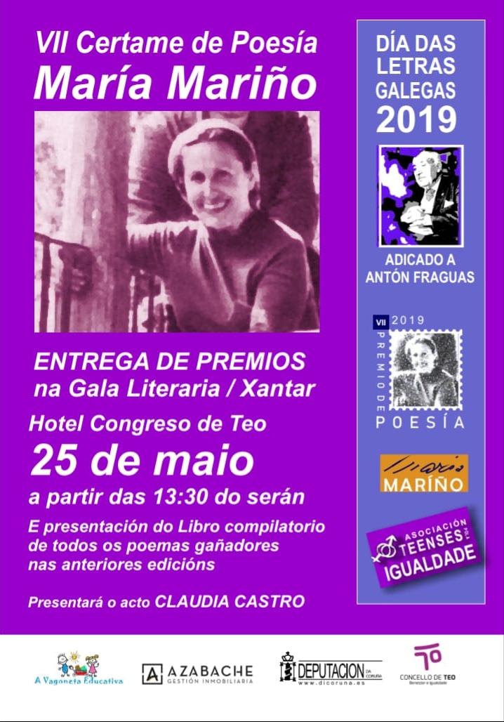 Fallado o VII Premio de Poesía María Mariño