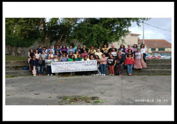 Teenses pola Igualdade participa na Xornada «A axenda feminista galega. 4ª ola», celebrada este verán en Panxón