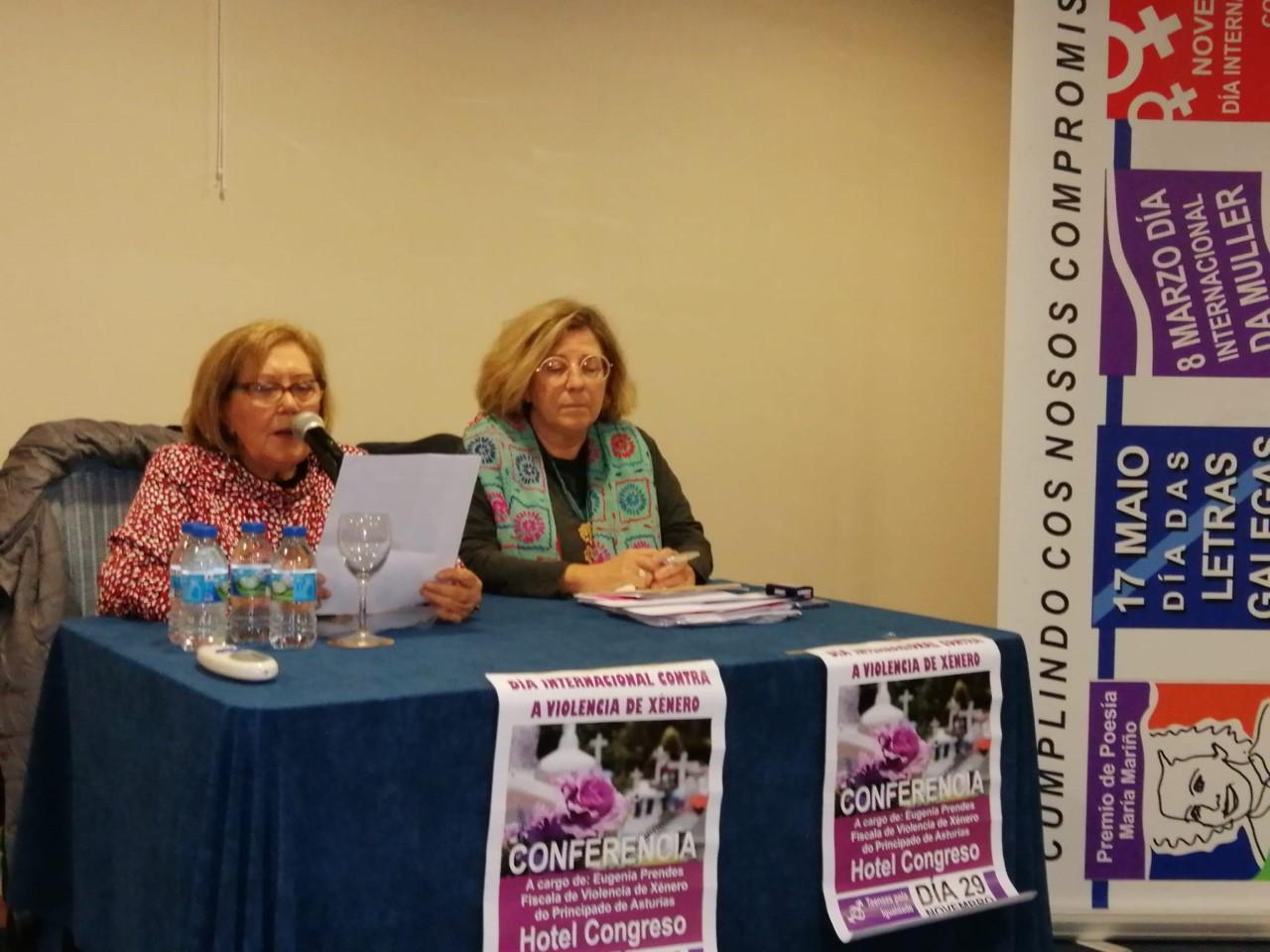 Conferencia de Eugenia Prendes, fiscal de violencia de xénero en Asturias