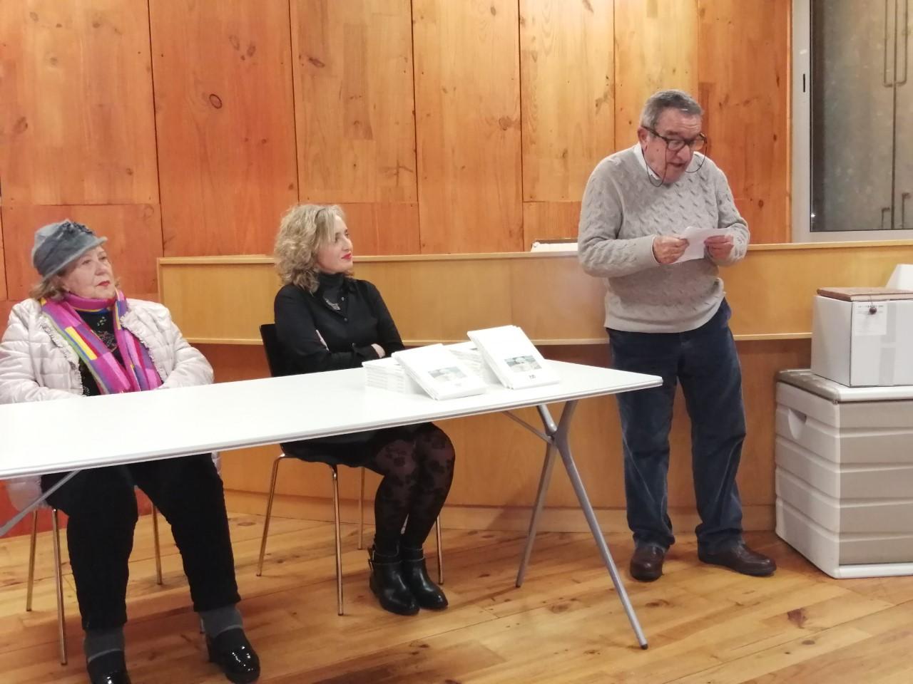 Presentación do libro compilatorio dos poemas gañadores dos certames María Mariño
