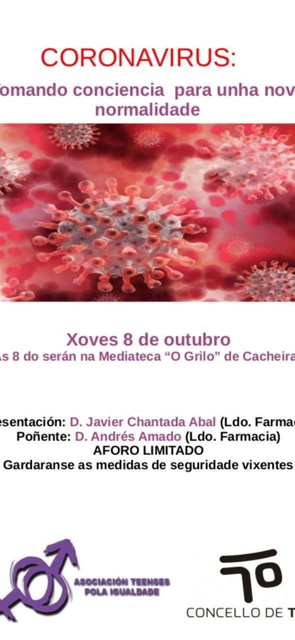 Conferencia sobre a nova normalidade derivada do coronavirus
