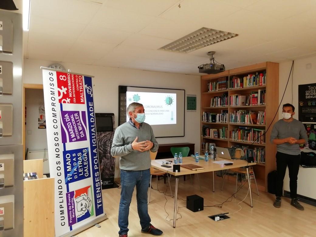 Andrés Amado: «o correcto uso de máscaras é crítico para evitar o contaxio da COVID-19»