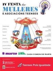 8 de marzo IV FESTA Das Mulleres e das Asociacións Teenses