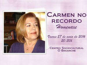Carmen Feteira homenaje