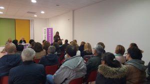 Magnifica conferencia de Pilar Diaz Burgos