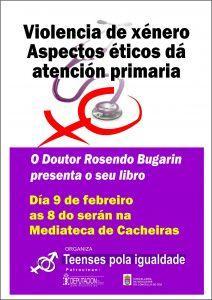 O Dr. Bugarin fará a presentación do seu libro en Teo
